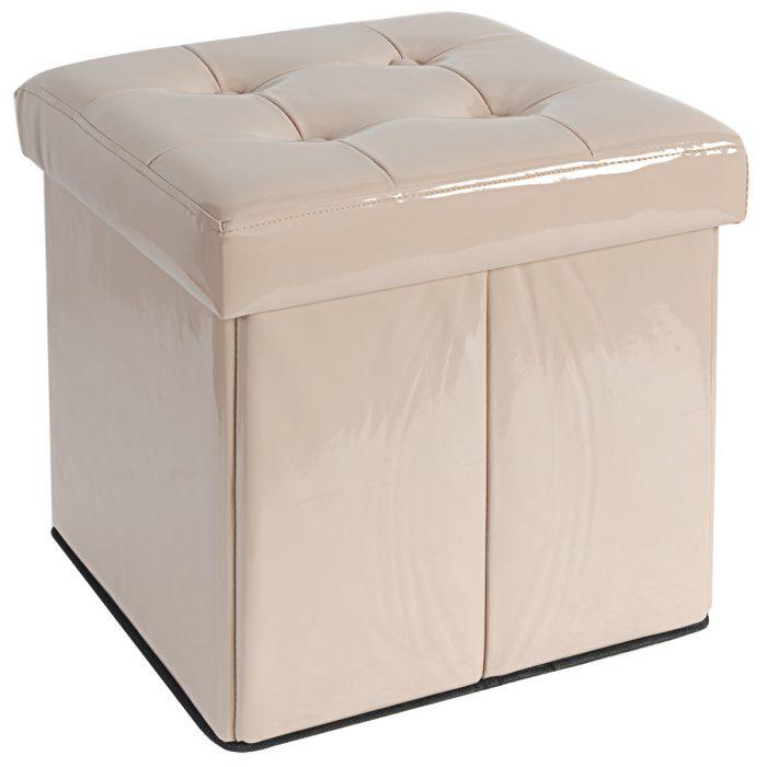 pouf quadrato contenitore